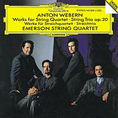 Webern: Works for String Quartet; String Trio Op.20 by Various Artists