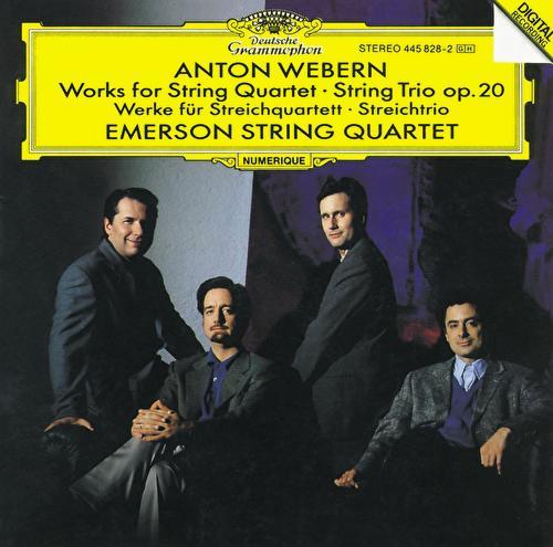 Webern: Works for String Quartet; String Trio Op.20 by Various Artists