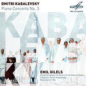 Kabalevsky: Piano Concerto No. 3 by Emil Gilels