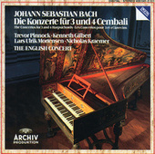 Bach, J.S.: Concertos for 3 and 4 Harpsichords de The English Concert