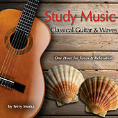 Study Music - Classical Guitar & Waves (One Hour for Focus & Relaxation) by Terry Muska