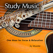 Study Music (Classical Guitar & Flute at the Beach) de Musette