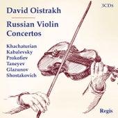 Russian Violin Concertos de David Oistrakh