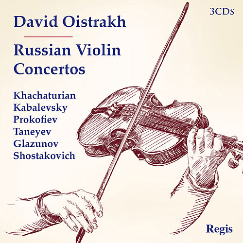Russian Violin Concertos by David Oistrakh