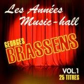 Les années music-hall: Georges Brassens, Vol. 1 de Georges Brassens