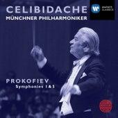 Prokofiev: Symphonies 1 & 5 von Sergiu Celibidache