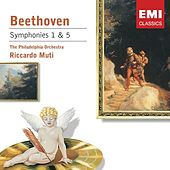 Beethoven: Symphony Nos 1 & 5 von Various Artists
