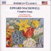 MACDOWEL: Songs (Complete) de Steven Tharp
