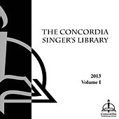 The Concordia Singer's Library-Choral 1 by Concordia Publishing House