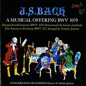 J.S. Bach: A Musical Offering, BWV 1079, Harpsichord Concerto, BWV 1059 & Trio Sonata in D Minor, BWV 527 by Various Artists