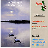 A Century of English Song, Vol. 1 by Sarah Leonard