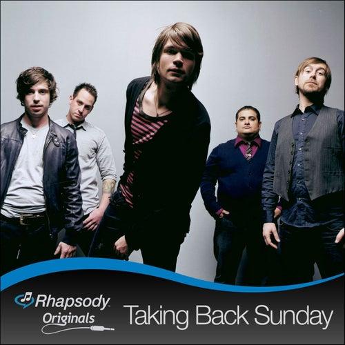 Rhapsody Originals by Taking Back Sunday