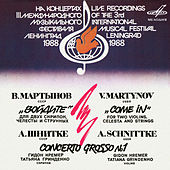 Martynov: Сome in! - Schnittke: Concerto Grosso No. 1 (Live) by Various Artists