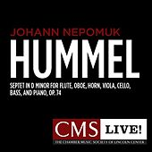Hummel: Septet in D minor for Flute, Oboe, Horn, Viola, Cello, Bass, and Piano, Op. 74 by The Chamber Music Society Of Lincoln Center