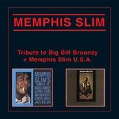 Tribute to Big Bill Broonzy + Memphis Slim, U.S.A. by Memphis Slim