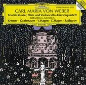 Weber: Piano Trio Op. 63; Piano Quartet Op. 8 by Vadim Sakharov