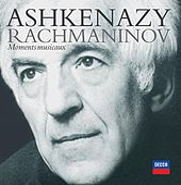 Rachmaninov: Moments Musicaux by Vladimir Ashkenazy