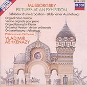 Mussorgsky: Pictures at an Exhibition (piano version & orchestration) by Various Artists
