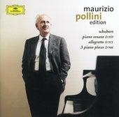 Schubert: Sonata in A major D959; Allegretto in C minor D915; 3 Klavierstücke by Maurizio Pollini