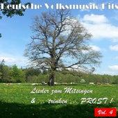 Deutsche Volksmusik Hits - Lieder zum Mitsingen & ...trinken...Prost! Vol. 4 by Various Artists