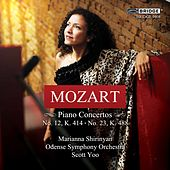 Mozart: Piano Concertos, Vol. 4 by Marianna Shirinyan