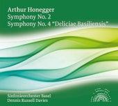 Honegger: Symphony No. 2 - Symphony No. 4,