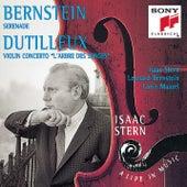 Bernstein/Dutilleux:  Violin Concertos by Isaac Stern, The Symphony of the Air, Leonard Bernstein, Orchestre National De France, Lorin Maazel