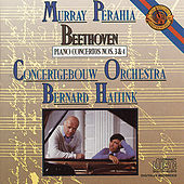 Beethoven:  Concertos for Piano and Orchestra No. 3 & 4 by Bernard Haitink; Concertgebouw Orchestra; Murray Perahia