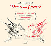 Handel: Duetti da camera by Roberta Invernizzi