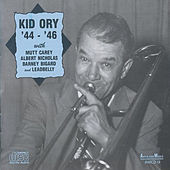 Kid Ory '44-'46 with Mutt Carey, Albert Nicholas, Barney Bigard and Leadbelly by Kid Ory