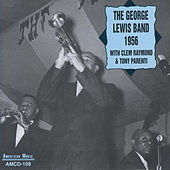 The George Lewis Band 1956 with Clem Raymond and Tony Parenti by George Lewis