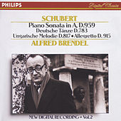 Schubert: Piano Sonata in A, D.959/No.20; Hungarian Melody; 16 German Dances etc. by Alfred Brendel