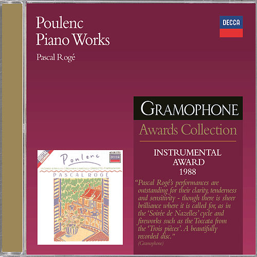 Poulenc: Piano Works by Pascal Rogé