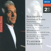 Beethoven: Favourite Piano Sonatas de Vladimir Ashkenazy