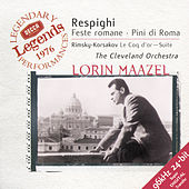 Respighi: Roman Festivals; Pines of Rome / Rimsky-Korsakov: The Golden Cockerel Suite by Cleveland Orchestra