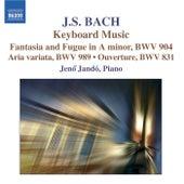 BACH: Keyboard Music di Jeno Jando