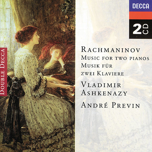 Rachmaninov: Music for two pianos by Vladimir Ashkenazy