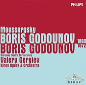 Moussorgsky: Boris Godunov (1869 & 1872 Versions) by Various Artists