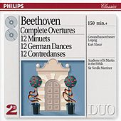 Beethoven: Complete Overtures / 12 Minuets / 12 German Dances, etc. by Various Artists