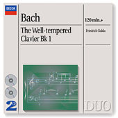 Bach, J.S.: The Well-tempered Clavier Bk I by Friedrich Gulda