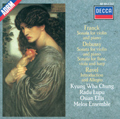Debussy / Franck / Ravel: Sonata for Flute, Viola & Harp / Sonata for Violin & Piano etc. de Various Artists