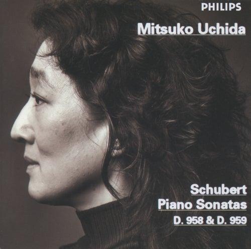 Schubert: Piano Sonatas D958 & D959 by Mitsuko Uchida