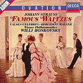Strauss, J.: Famous Waltzes - The Blue Danube; Emperor Waltz etc. by Various Artists