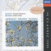 Brahms: Horn Trio / Franck: Violin Sonata de Various Artists