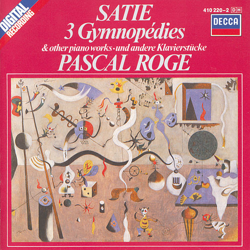 Satie: 3 Gymnopédies; 6 Gnossiennes etc. by Pascal Rogé