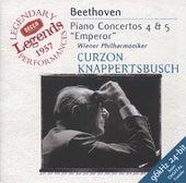 Beethoven: Piano Concertos Nos.4 & 5 by Sir Clifford Curzon