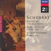 Schubert: Music for Violin & Piano; Arpeggione Sonata de Various Artists