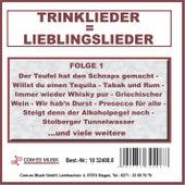 Trinklieder = Lieblingslieder, Folge 1 by Various Artists
