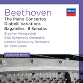 Beethoven: The Piano Concertos; Diabelli Variations; Bagatelles; 8 Sonatas (6) by Stephen Kovacevich