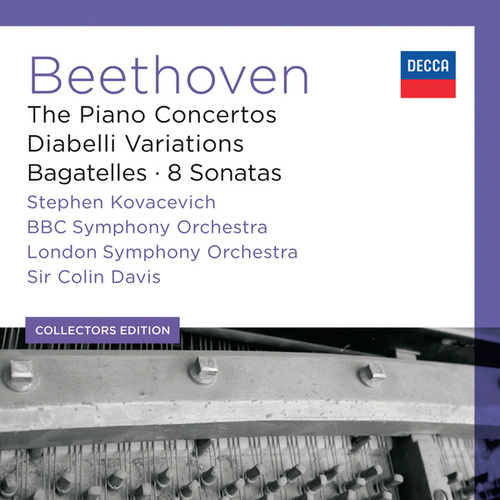 Beethoven: The Piano Concertos; Diabelli Variations; Bagatelles; 8 Sonatas by Stephen Kovacevich